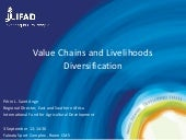 Value Chains and Livelihoods Diversification