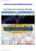 Fap Turbo Forex Glossary Of Terms