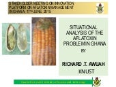 PLATFORM ON AFLATOXIN MANAGEMENT IN GHANA