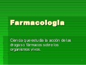Farmacologia farmacognosia