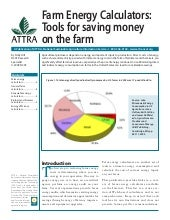 Farm Energy Calculators: Tools for ...