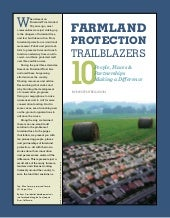 Farmland Protection Trailblazers
