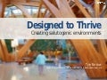 Designed to Thrive: creating salutogenic environments