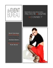 The Event Bureau Fashion Brochure