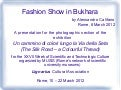 Fashion Show in Bukhara