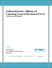 Political Reforms, Militancy and Up...