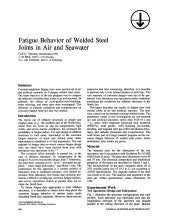 Fatigue behavior of welded steel