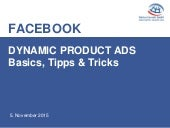 Dynamic Product Ads - Basics, Tipps & Tricks #AFBMC