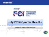 New Zealand Franchising Confidence Index | July 2014