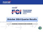New Zealand Franchising Confidence Index | October 2014