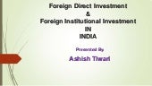 Fdi & fii final ppt