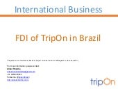 FDI in B2B Travel in Brazil
