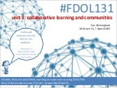 FDOL131 unit 3: collaborative learn...