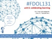 FDOL131 unit 6: celebrating learnin...