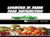 fresh food distribution logistics