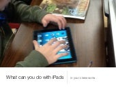 What can you do with iPads in a HS ...