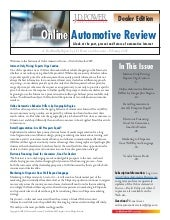 JD Power Online Automotive Review