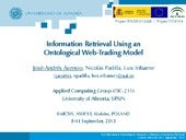 Information Retrieval Using an Onto...