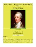 Federalist Papers No 8 Consequences of Hostilities Between The States