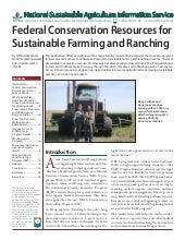 Federal Conservation Resources for ...