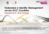 Federated e-Identity Management acr...