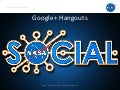 Quick Overview of Google+ Hangout Usage at NASA