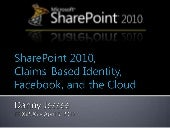 SharePoint 2010,Claims-Based Ident...