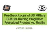 Feedback loops of us military cultu...