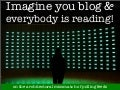 Imagine you blog & everybody is reading!