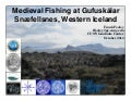 "Frank Feeley (CUNY) Early ""Industrial Scale"" Fisheries at Gufuskálar Iceland"