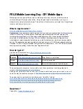 Fels mobile learningday-diymobileapps