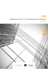 Part 2 of Guidance on the 8th EU Co...