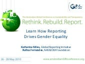 Learn how reporting drives gender e...