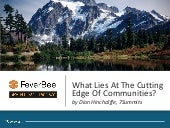 What Lies At The Cutting Edge of Communities | Keynote at FeverBee SPRINT 2015 SF by Dion Hinchcliffe