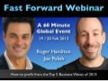 Fast Forward with Roger James Hamilton and Joe Polish