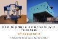Printing a 3D University in Peckham