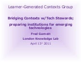 Bridging Contexts with Technology S...