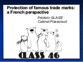 Protection of famous trade marks: a...