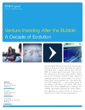 Venture Investing After the Bubble:...