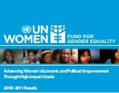 Fund For Gender Equality 2009-2011 ...