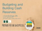 Budgeting and Building Cash Reserves