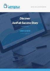 Discover JustFab success story with Lengow