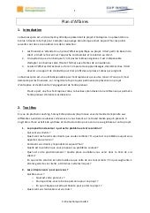 Fiche toolkit plan d'affaires