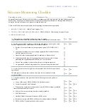 Fiduciary Monitoring Checklist