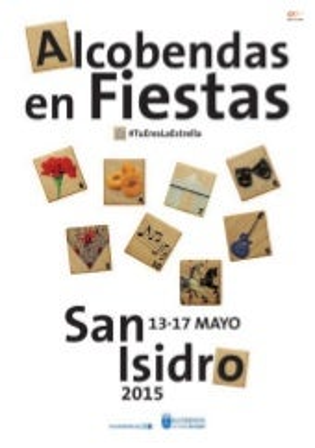 San Isidro Alcobendas. Cartel fiestas