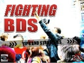Fighting BDS - Tips and Strategies
