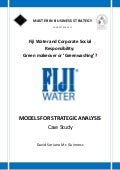 Fiji water. david soriano mc guinness