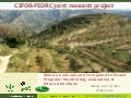China's Conversion of Cropland to Forest Program: Monitoring, evaluation & future direction
