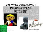 Filipino philosophy