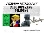FILIPINO PHILOSOPHY FINAL